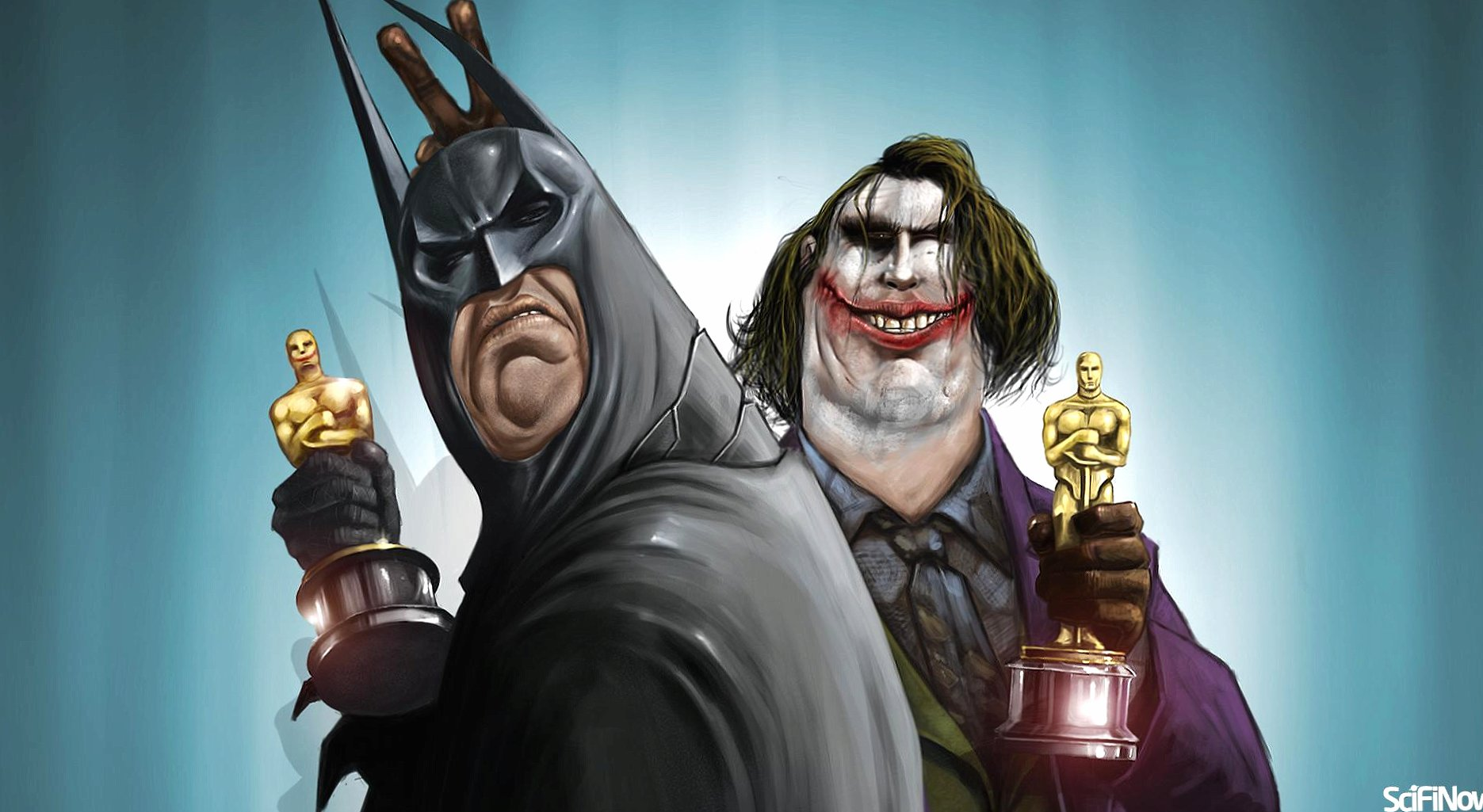 Funny joker and batman fat and old wallpapers HD quality