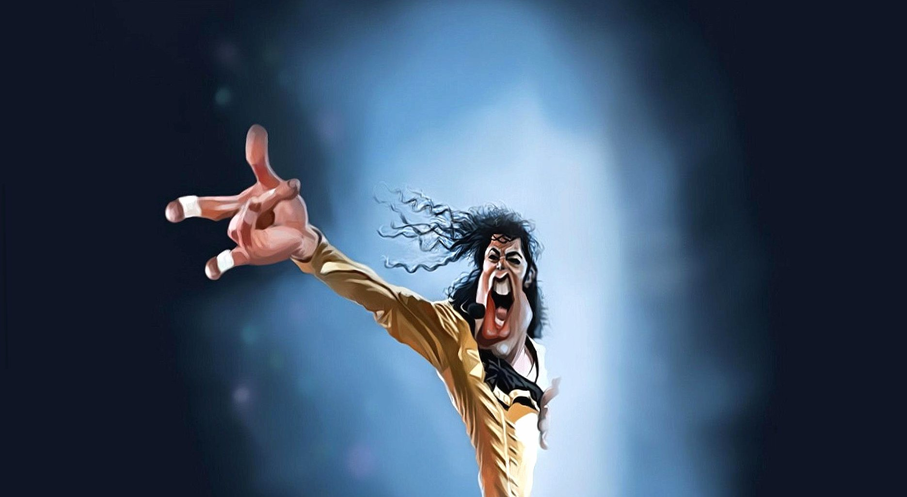 Funny michael jackson caricature wallpapers HD quality