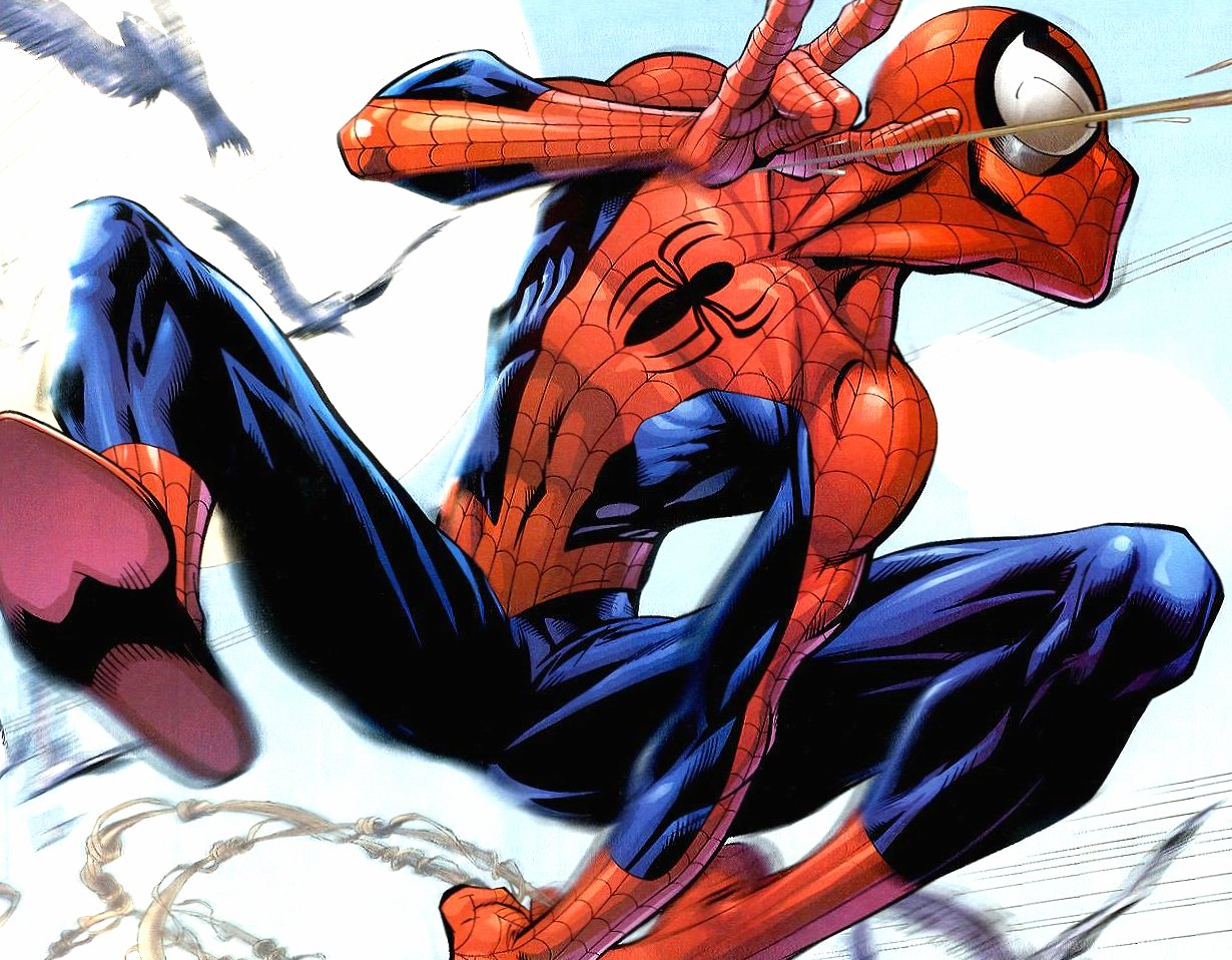 Funny spidrman caricature wallpapers HD quality