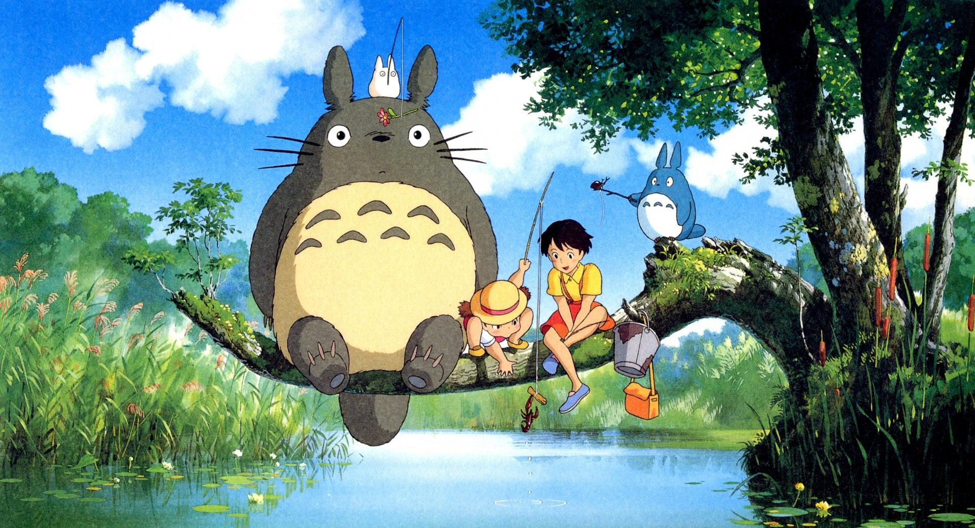 Ghibli My Neighbor at 1600 x 1200 size wallpapers HD quality
