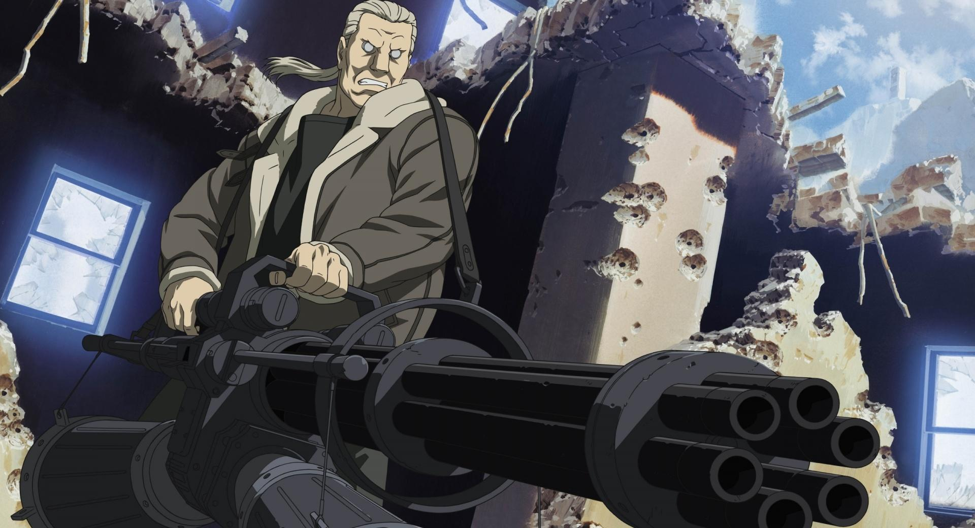 Ghost In The Shell Heavy Weapon wallpapers HD quality