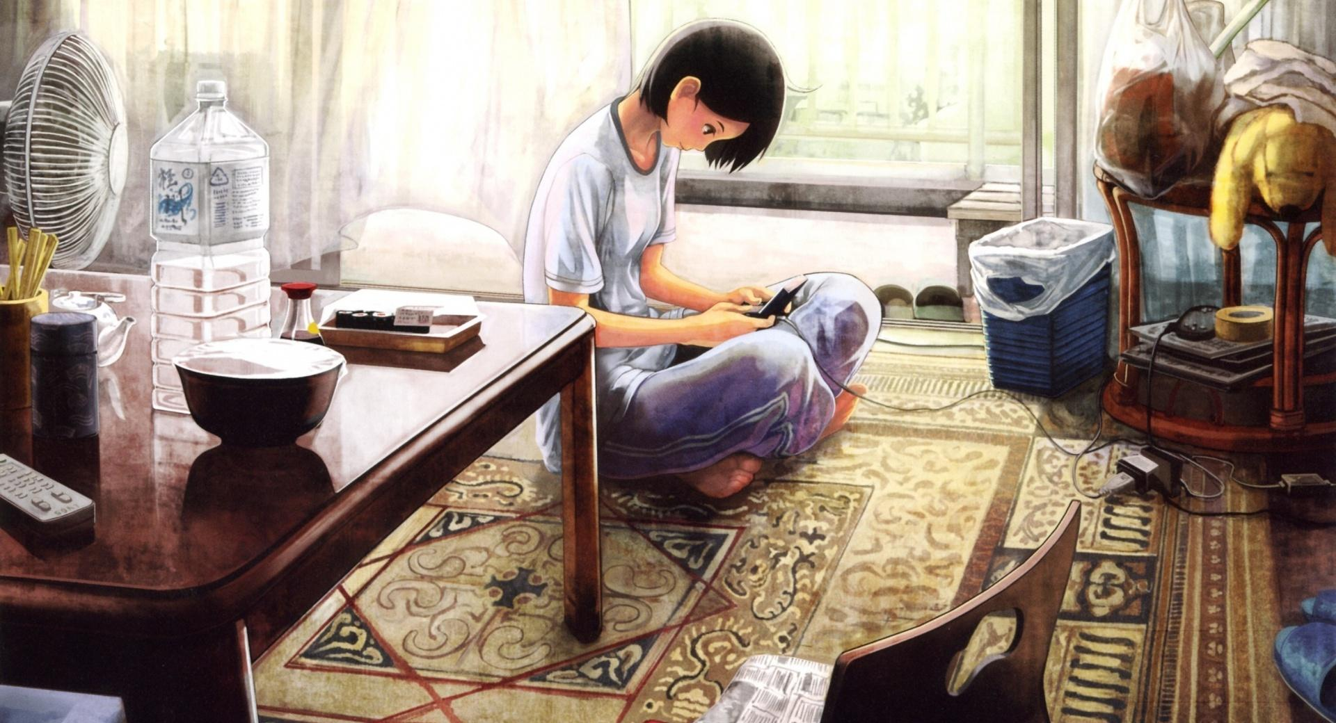 Girl Playing Video Games wallpapers HD quality