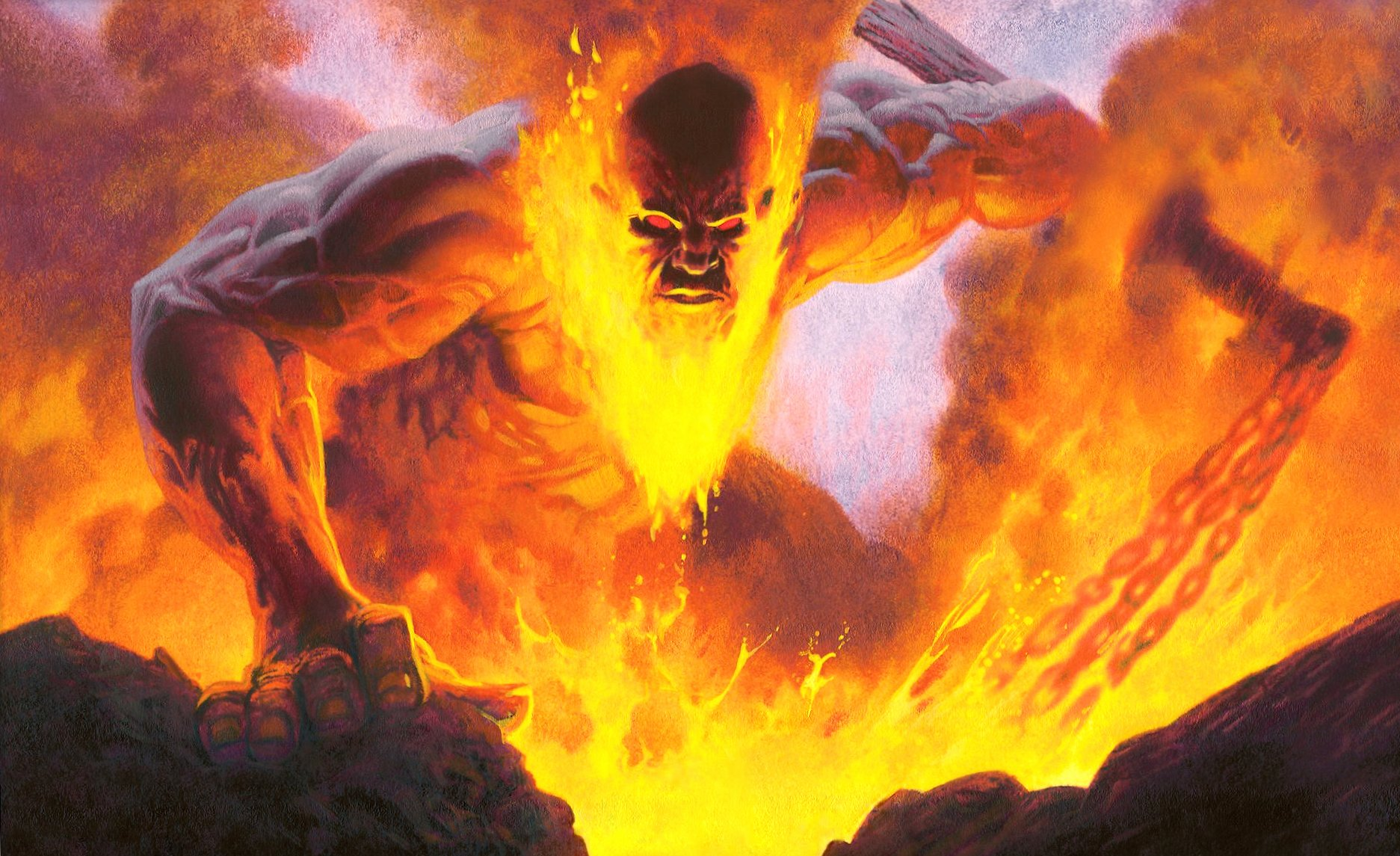God of fire wallpapers HD quality