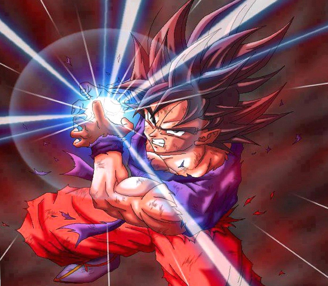 Goku Kamehameha wallpapers HD quality