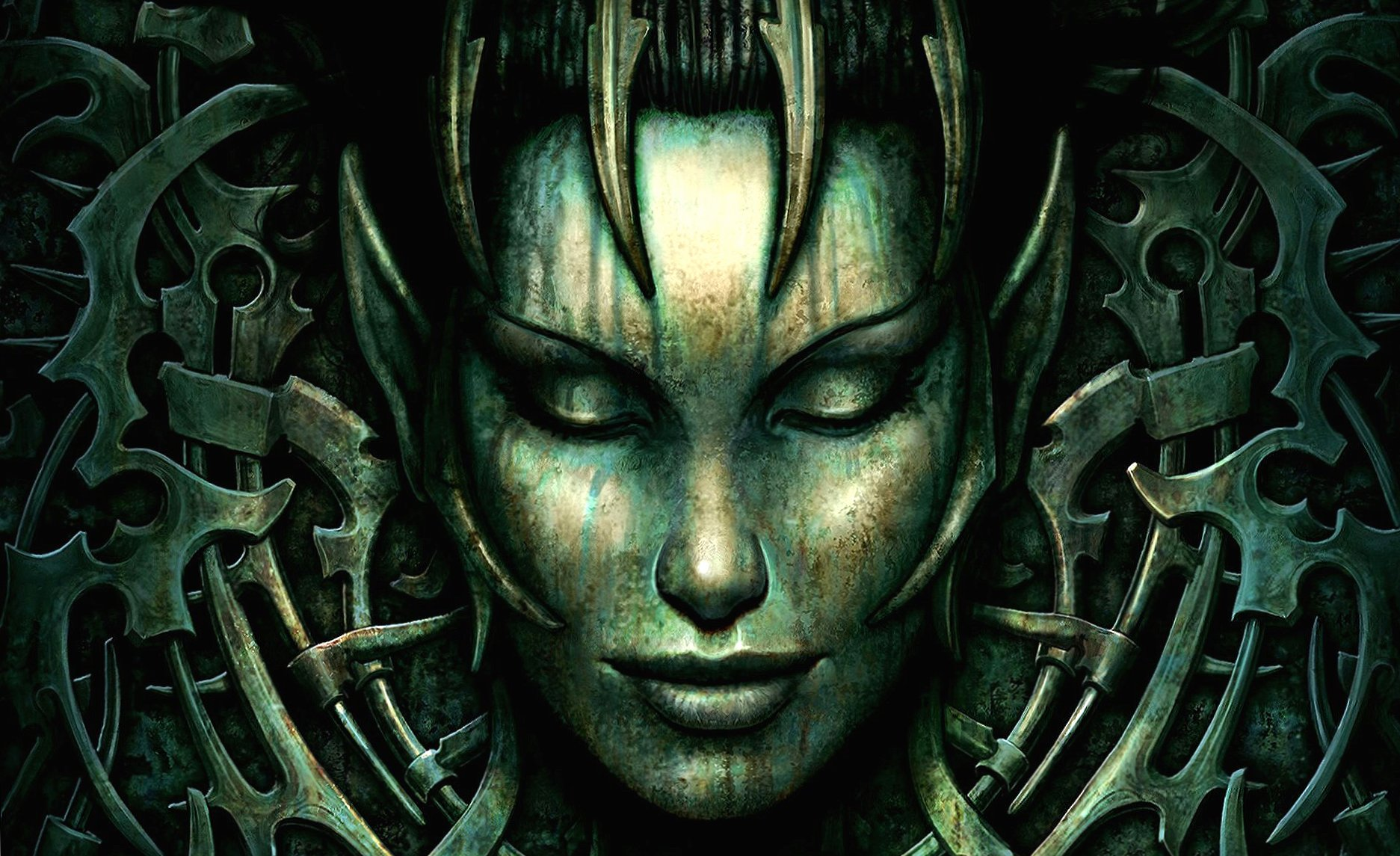 Guardian giger style wallpapers HD quality