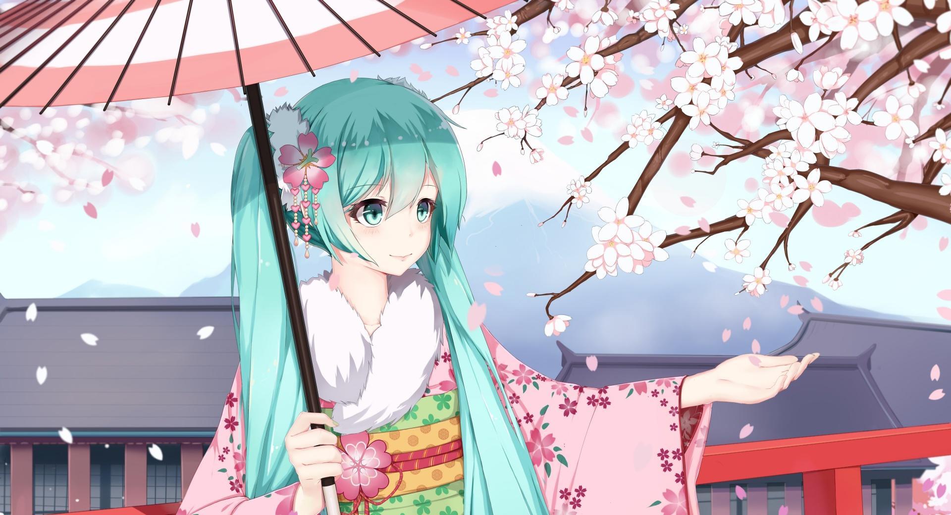 Hatsune Miku Sakura wallpapers HD quality