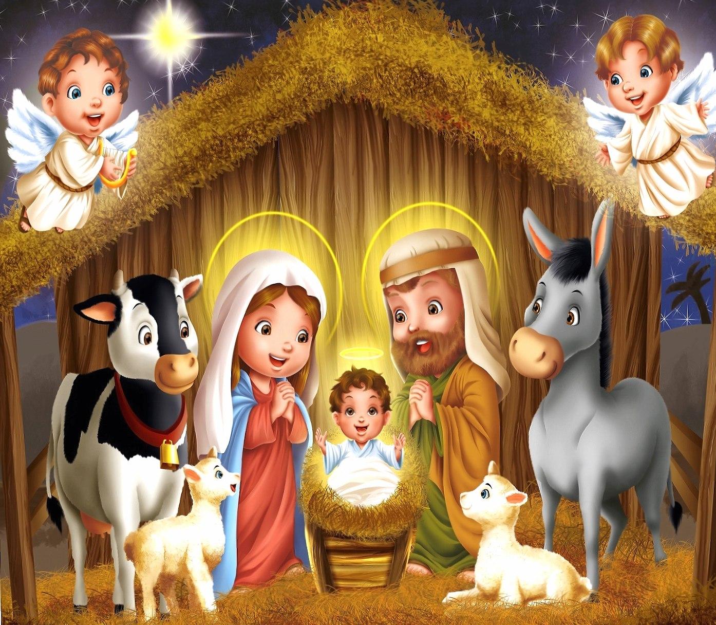 jesus birth wallpapers HD quality