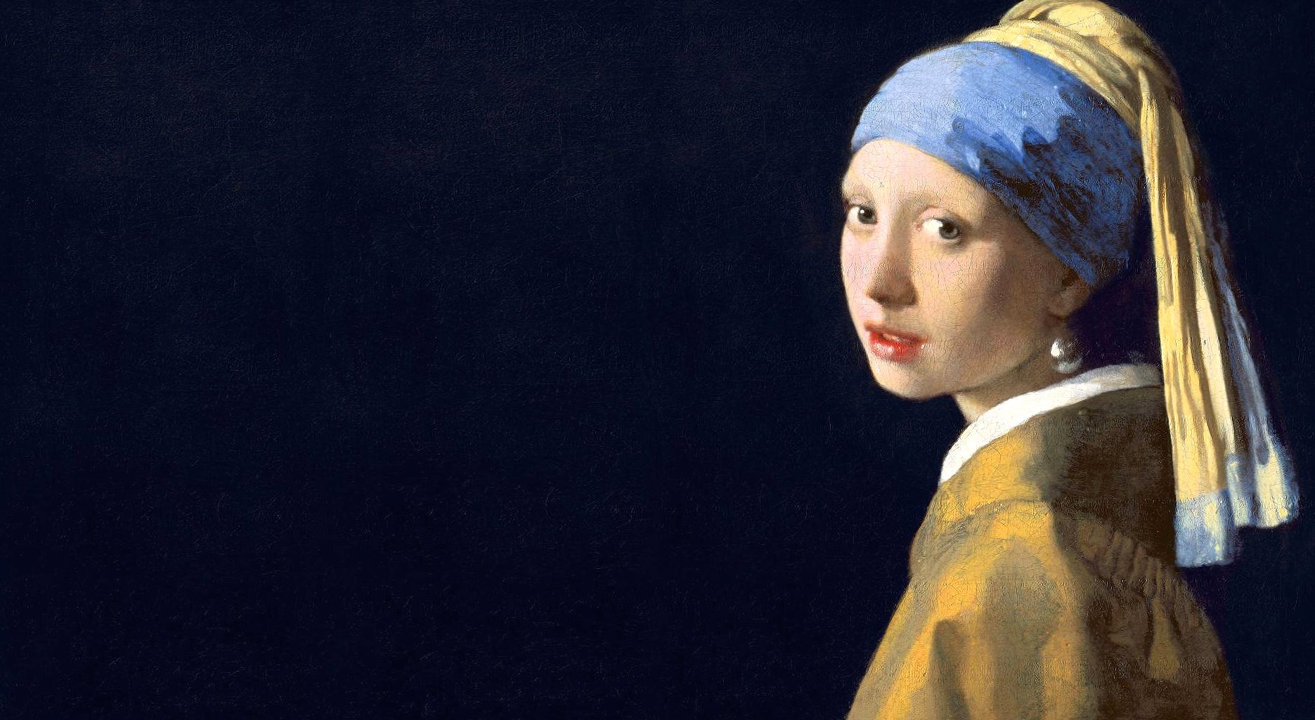 johannes vermeer girl with a pearl earring original wallpapers HD quality