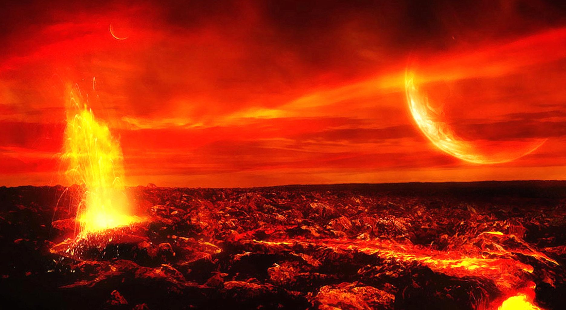 Lava planet wallpapers HD quality