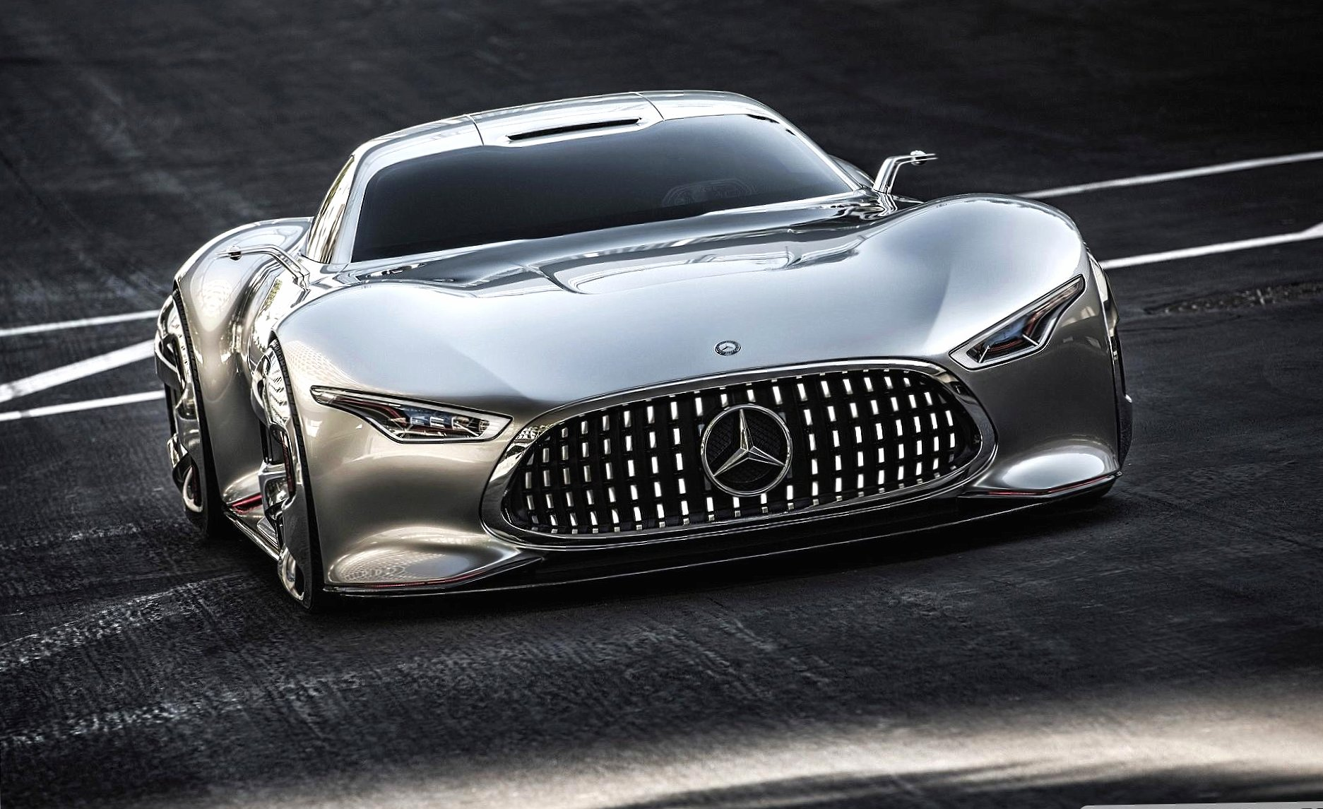 Mercedes benz amg vision gran turismo concept wallpapers HD quality