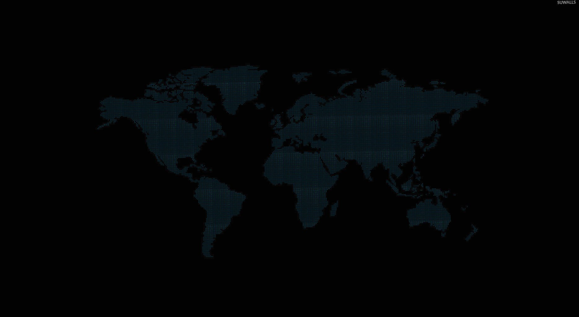 Minimalistic map of the world wallpapers HD quality