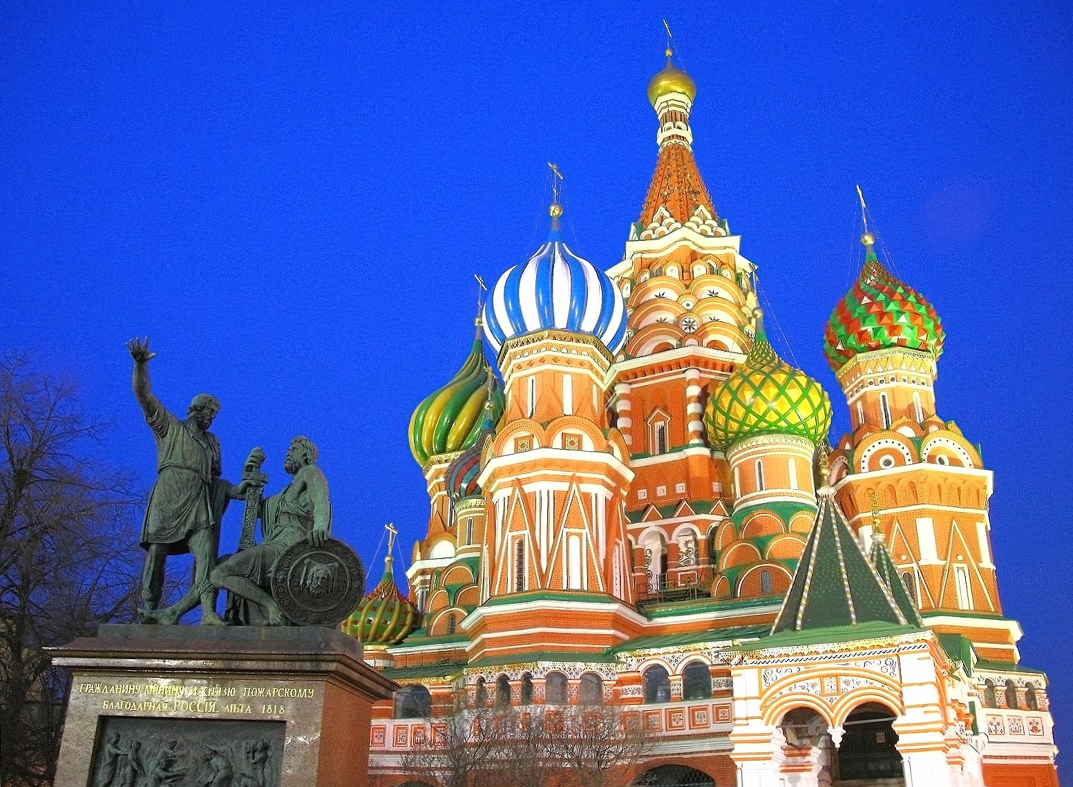 Moscow saint basils cathedral at 640 x 1136 iPhone 5 size wallpapers HD quality
