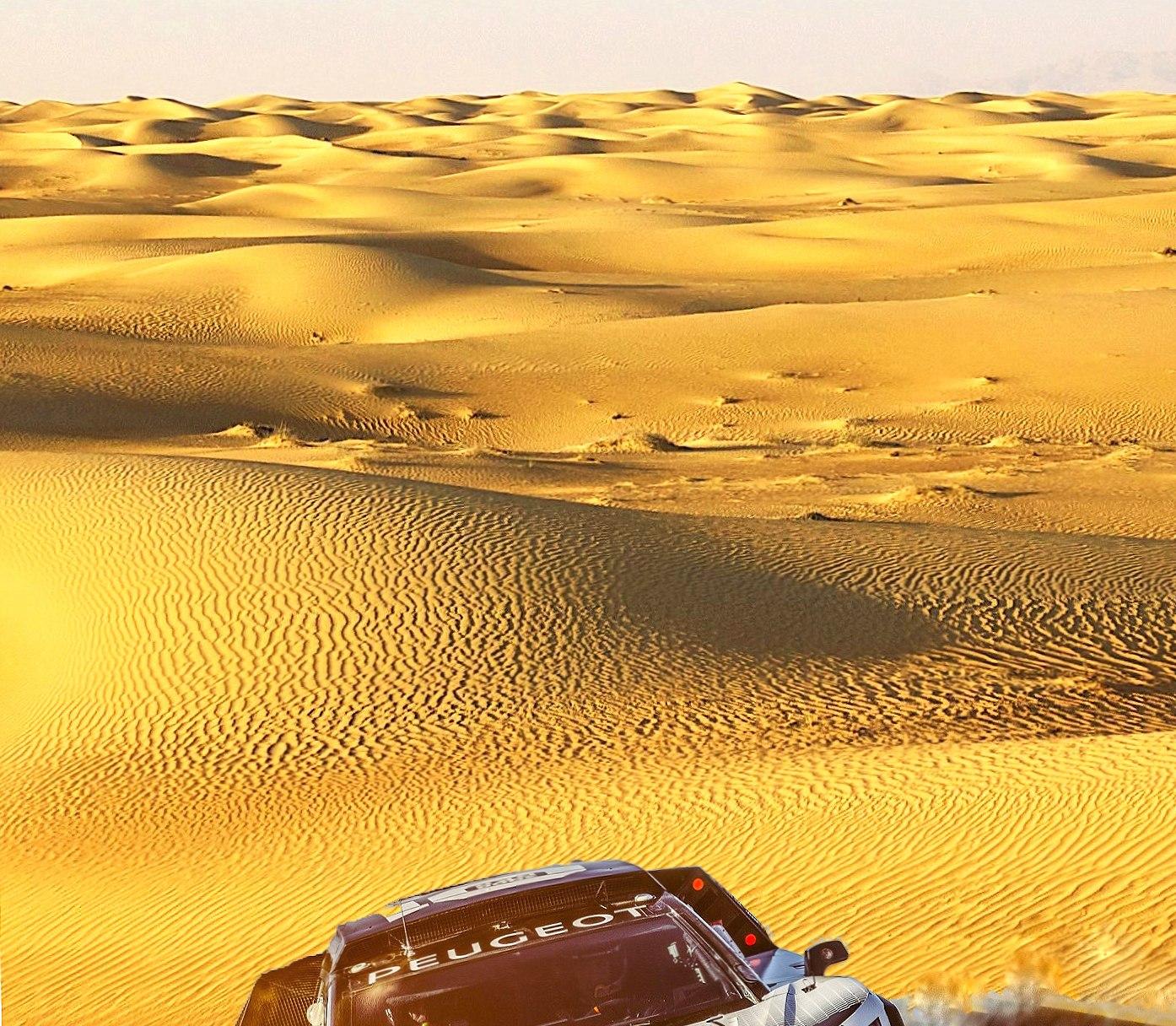 Peugeot 3008 Dakar wallpapers HD quality