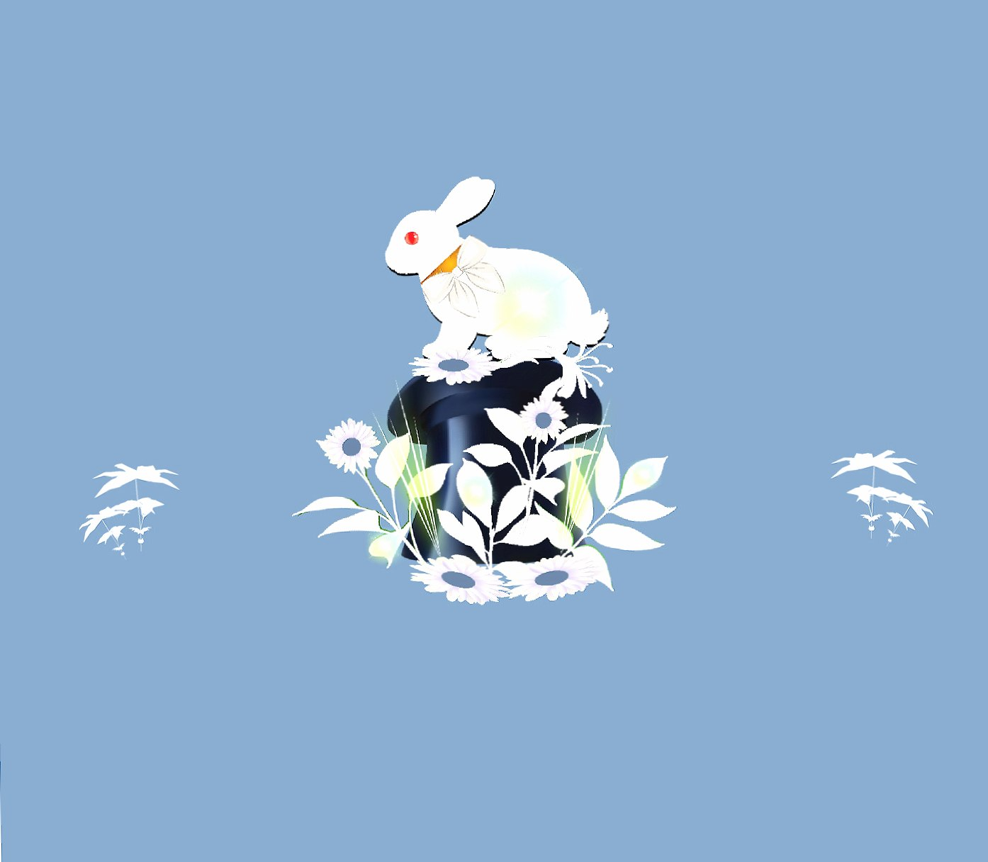 Rabbit hat 2 wallpapers HD quality