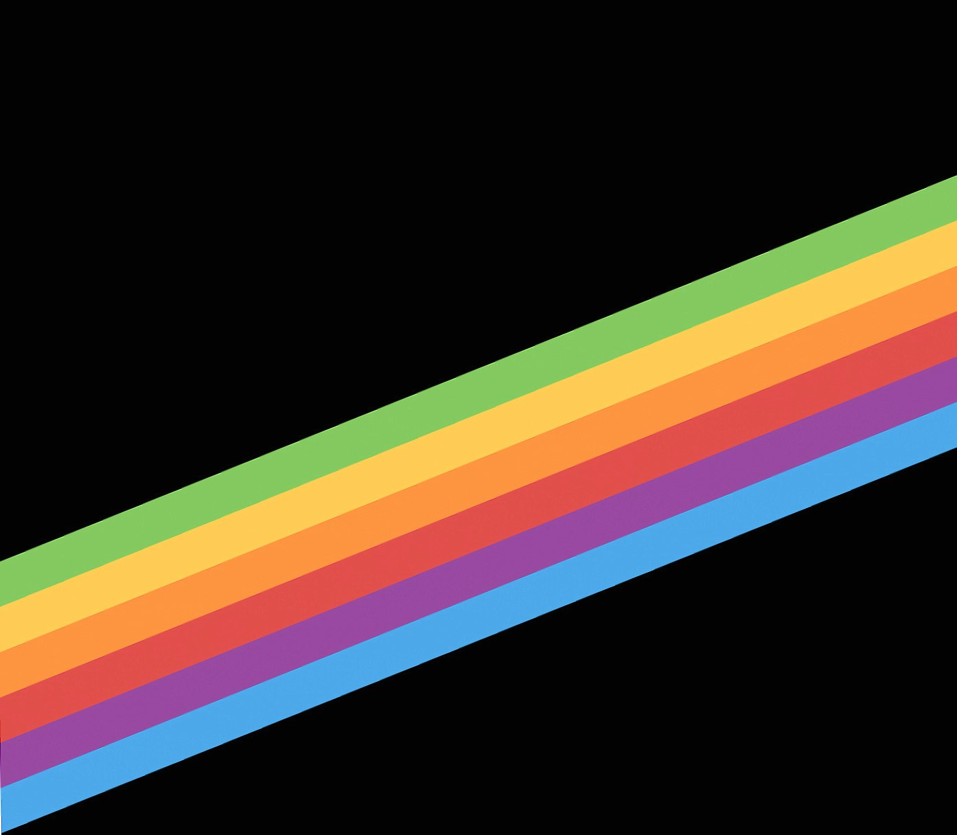 rainbow minimal wallpapers HD quality