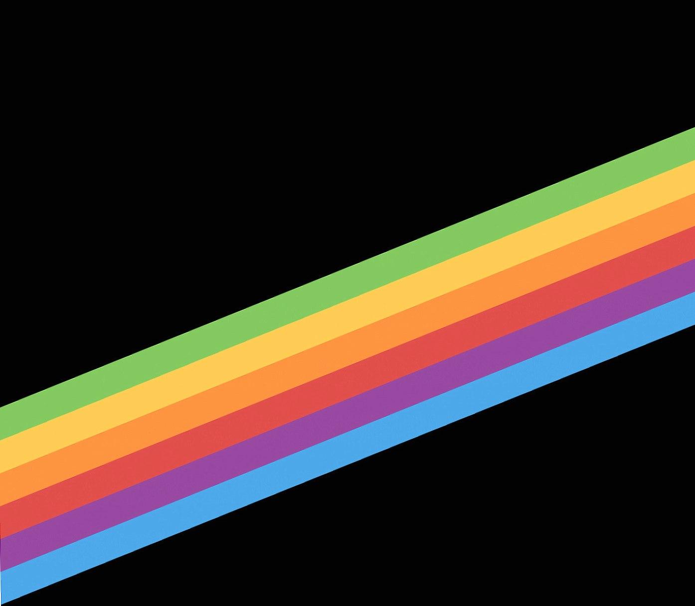 rainbow minimal wallpapers HD quality