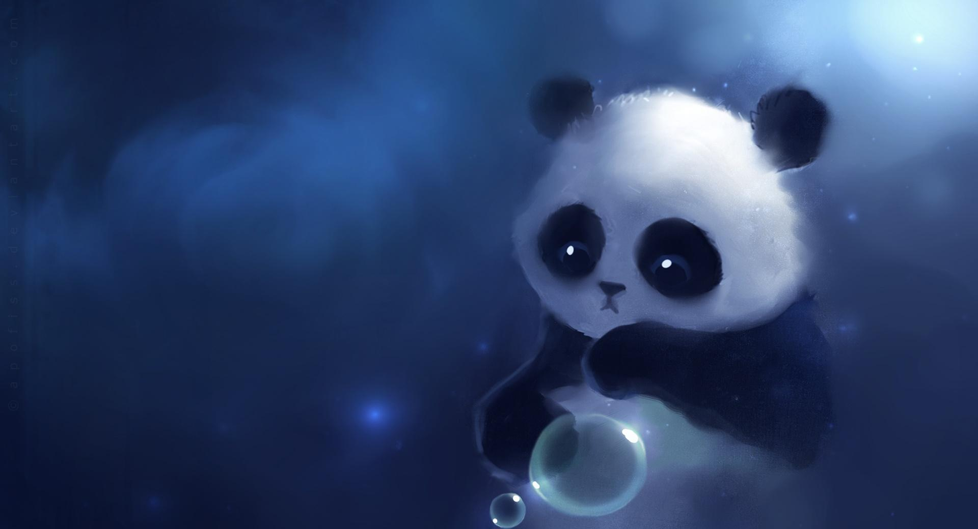 Sad Panda Painting wallpapers HD quality