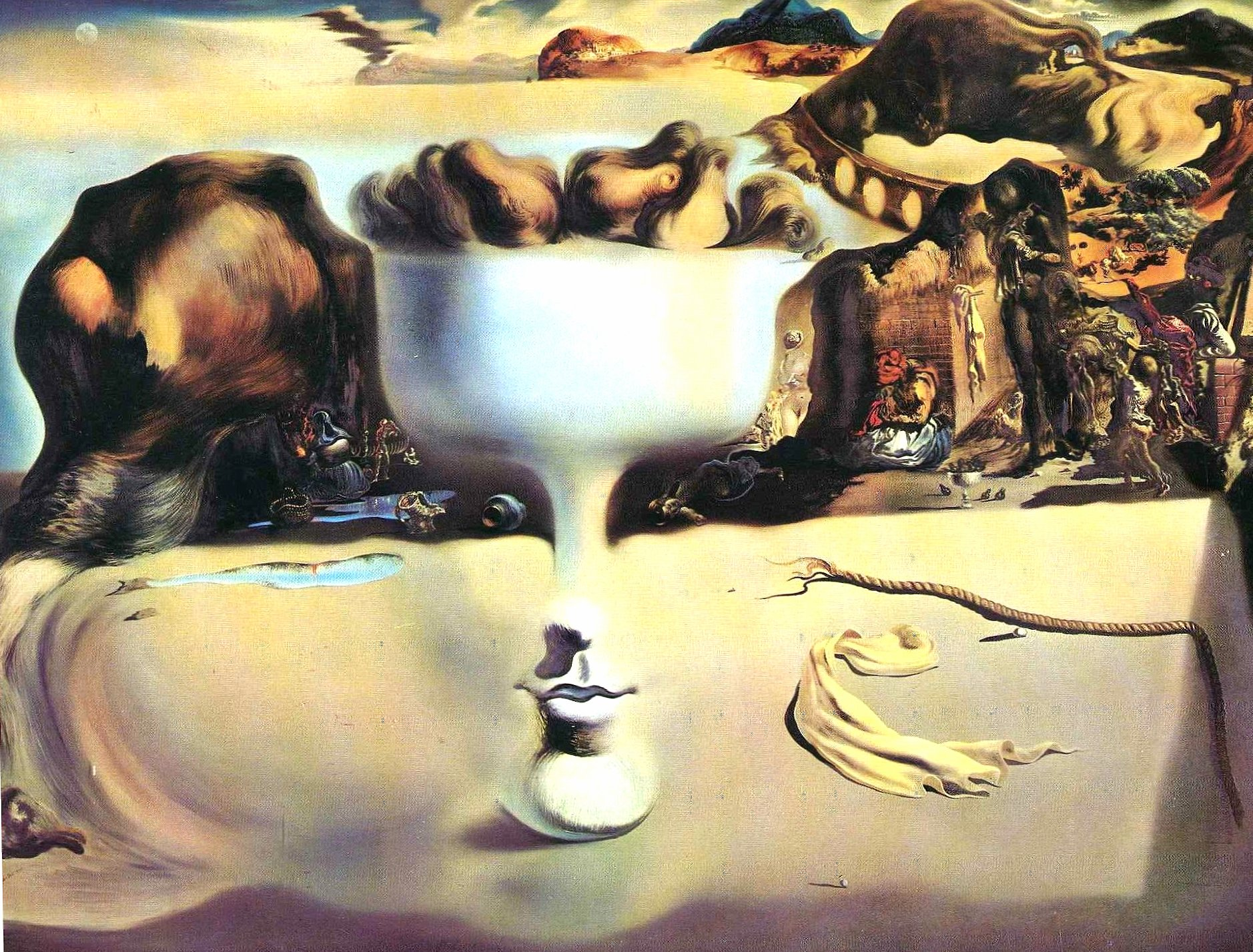 Salvador dali art artistic painting painters at 1024 x 768 size wallpapers HD quality
