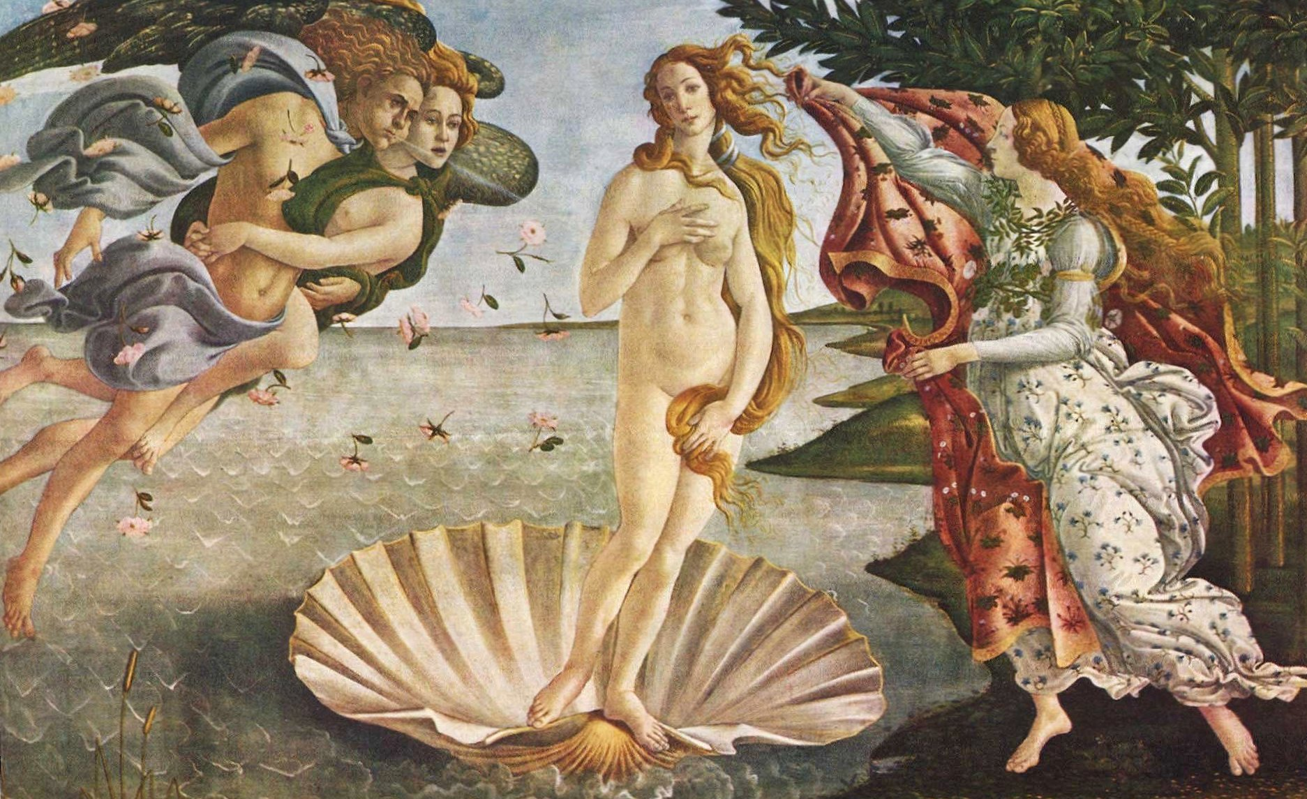 Sandro botticelli the birth of venus wallpapers HD quality