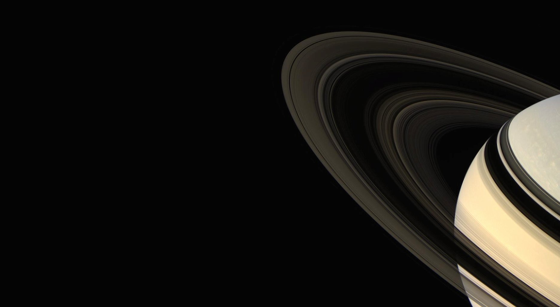 Saturn and the rings wallpapers HD quality