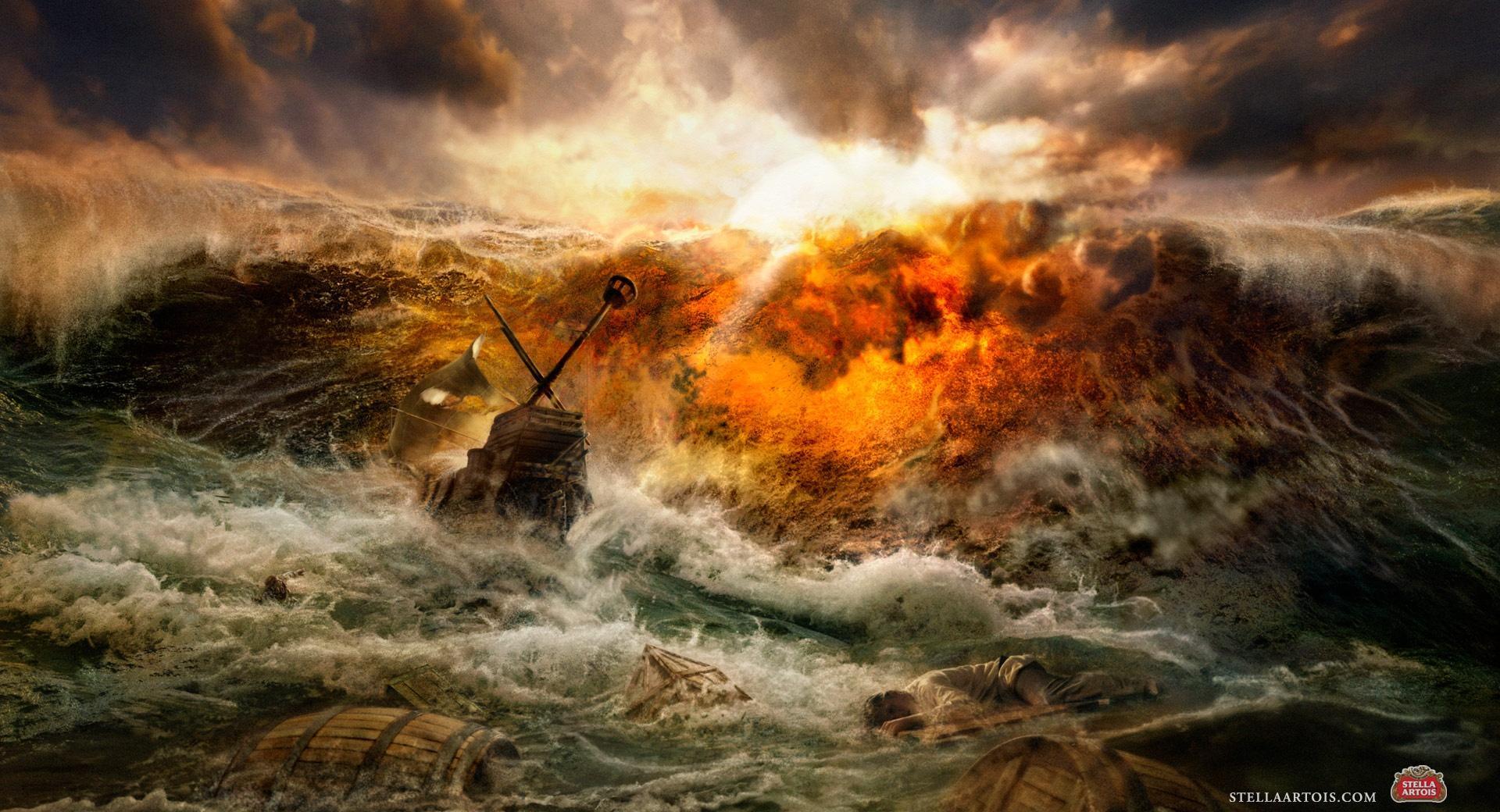 Ship Crash wallpapers HD quality