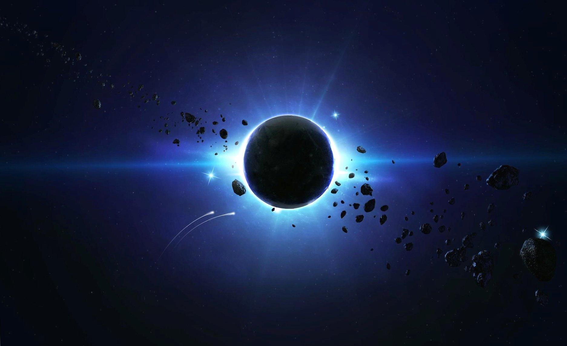 Space eclipse wallpapers HD quality