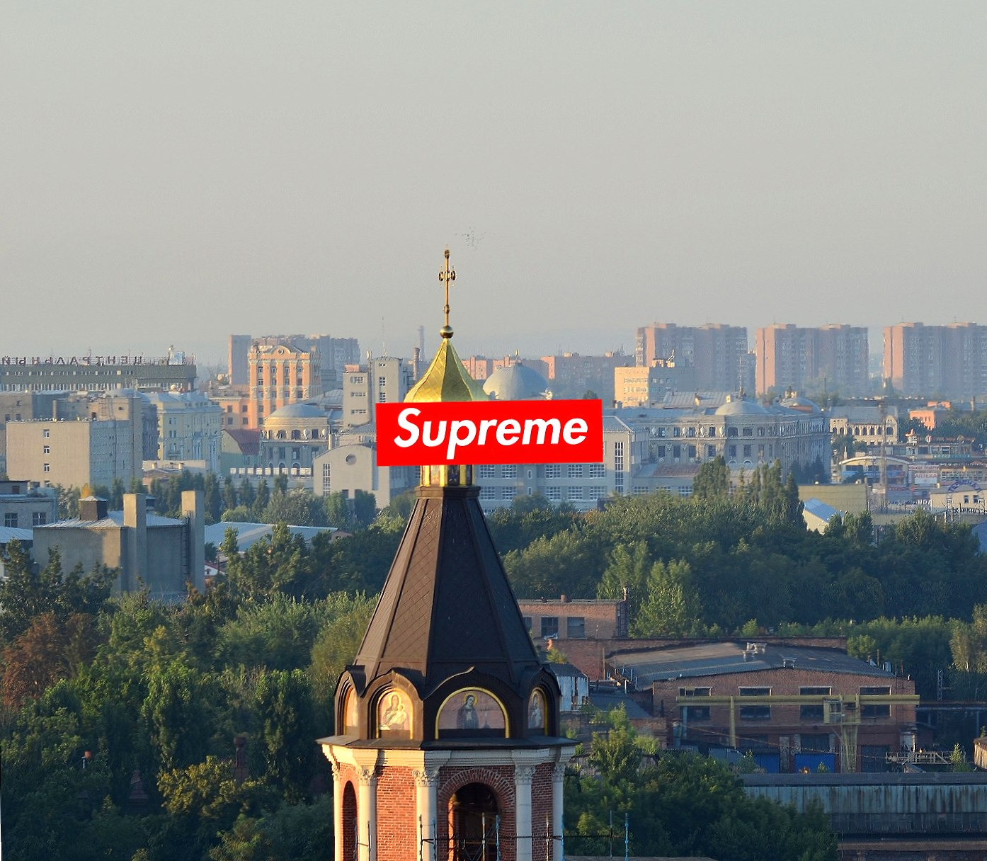 supreme city at 1334 x 750 iPhone 7 size wallpapers HD quality