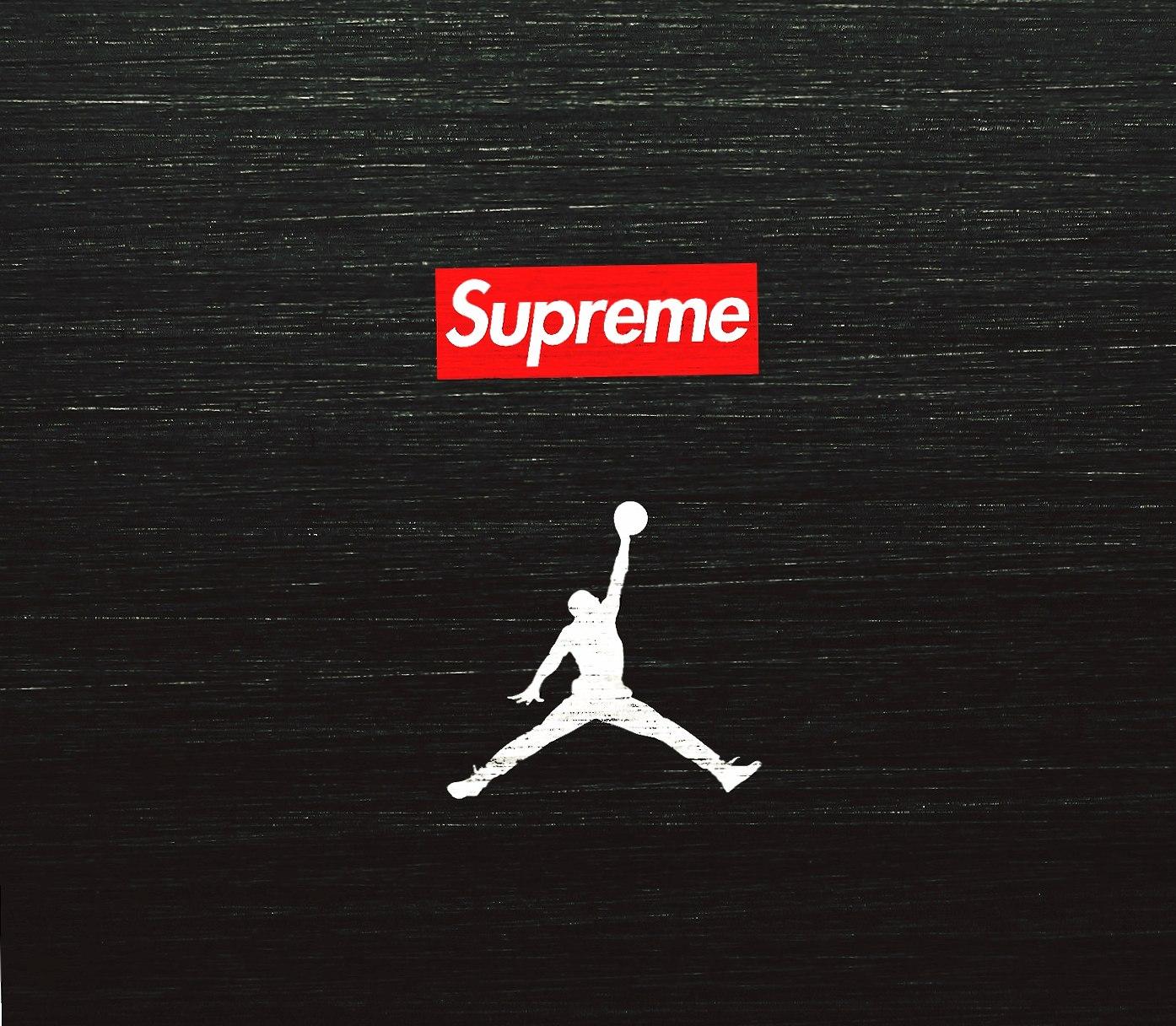 Supreme x Air Jordan wallpapers HD quality