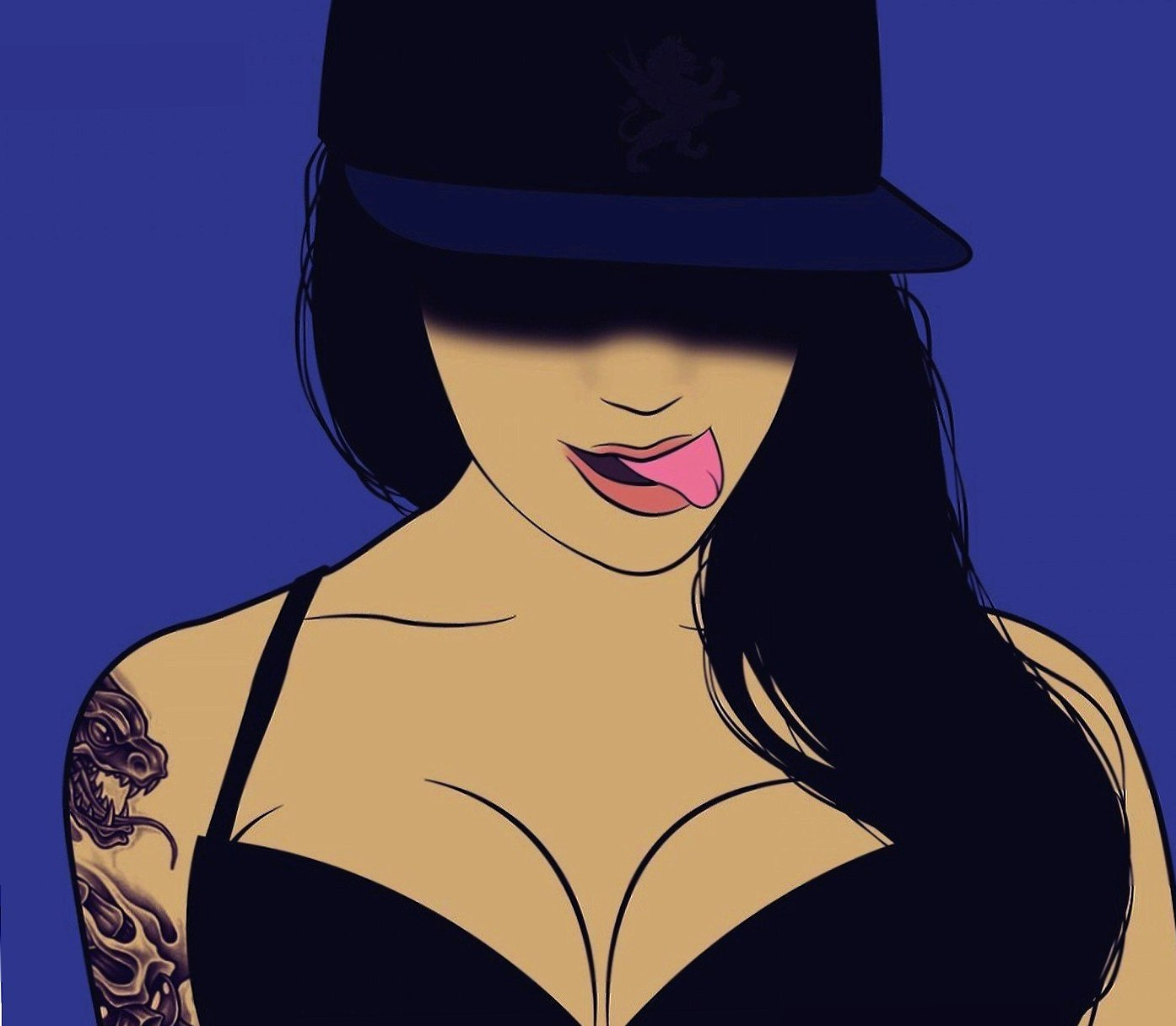 Tattooed Vector Girl wallpapers HD quality