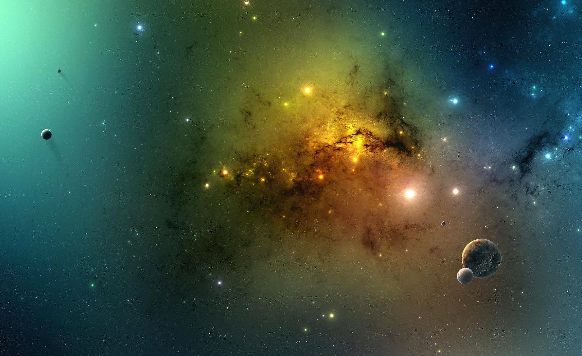 Tranquillity in space wallpapers HD quality