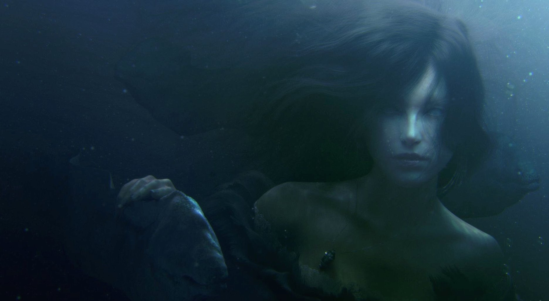 Underwater woman wallpapers HD quality