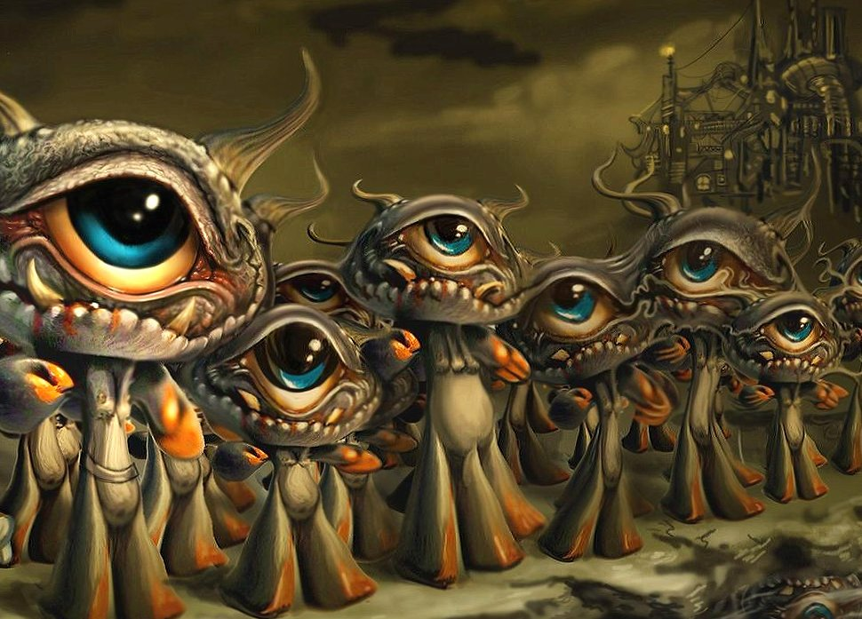 Weird creatures wallpapers HD quality