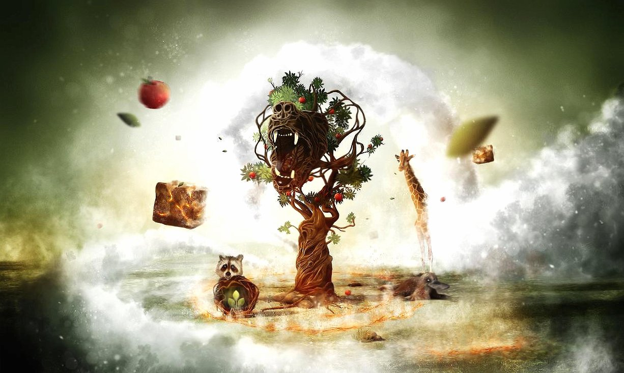 Weird fantasy world wallpapers HD quality