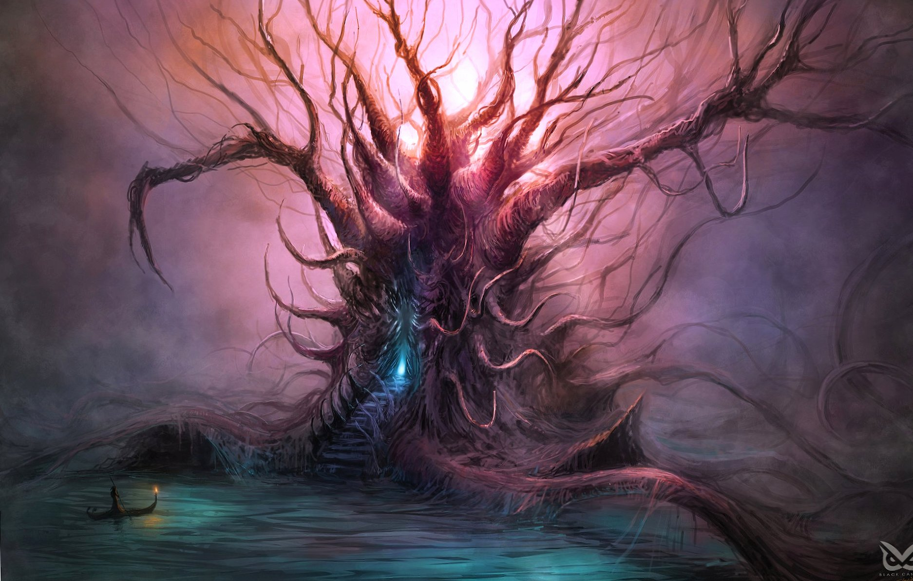 Weird tree fantasy wallpapers HD quality