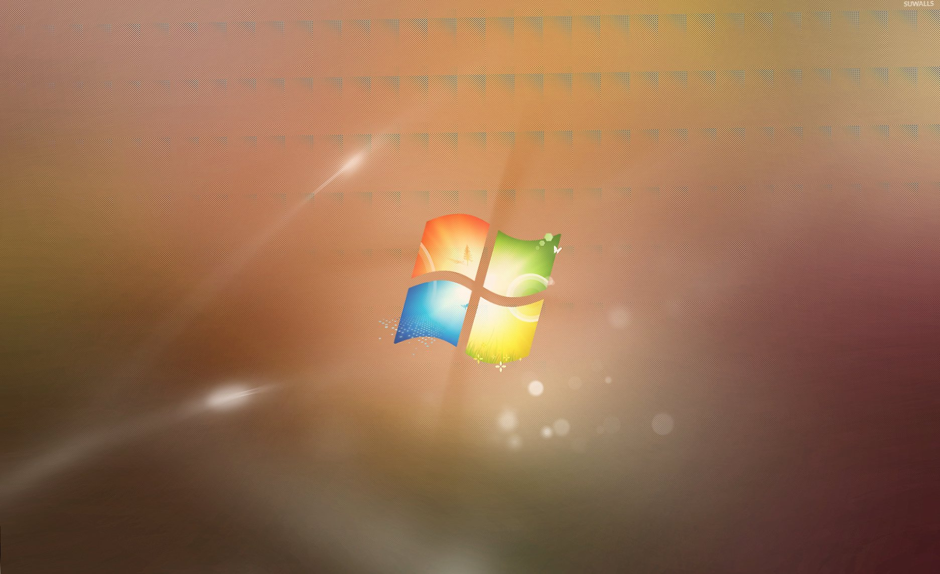 Windows logo on blur wallpapers HD quality