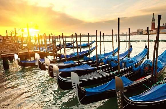 Boats venice gondole wallpapers hd quality