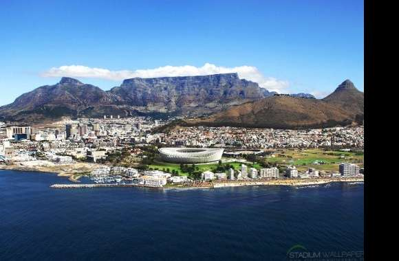 Cape town table mountain stadium south africa wallpapers hd quality