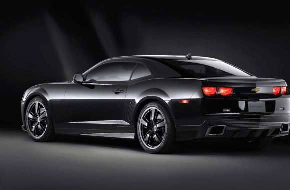 Chevrolet camaro black wallpapers hd quality
