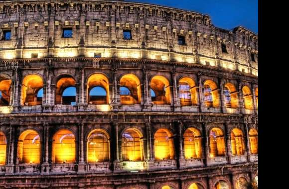 Colosseum detail rome italy wallpapers hd quality