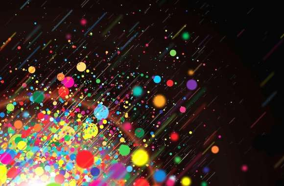 Colour bubbles line laser abstract digital wallpapers hd quality