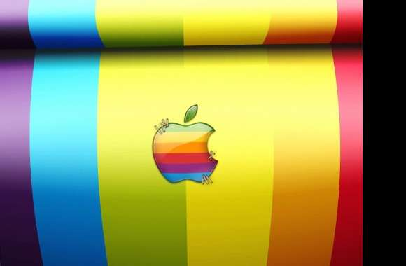coloured apple wallpapers hd quality
