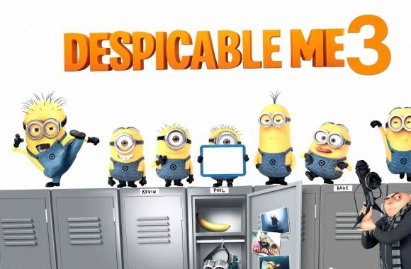Despicable Me 3 wallpapers hd quality