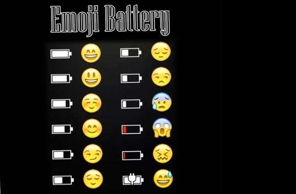 Emoji Battery wallpapers hd quality