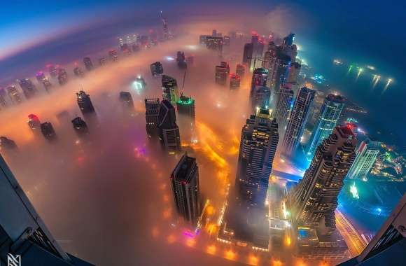 Fog in dubai wallpapers hd quality