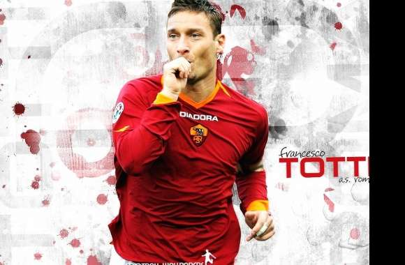 Francesco totti roma wallpapers hd quality