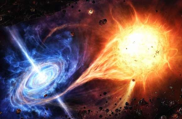 Galaxies fusion wallpapers hd quality