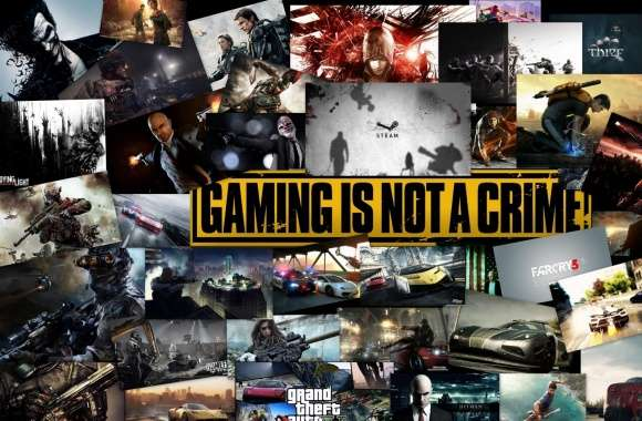 Gameing Is Not A Crime