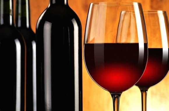 Glasses of red wine wallpapers hd quality