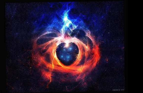 Heart in space wallpapers hd quality