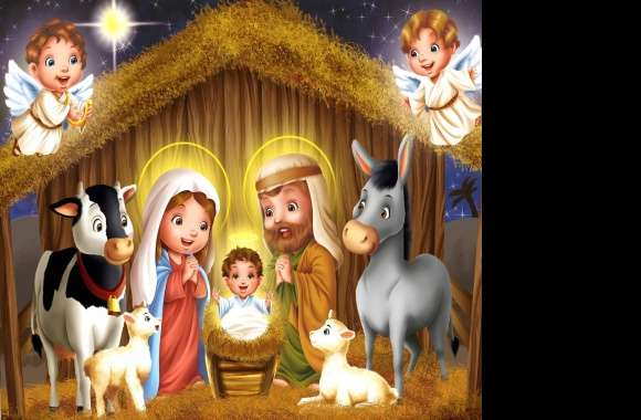 jesus birth wallpapers hd quality